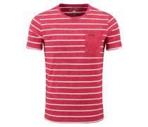 T-Shirt 'MT Defence' dunkelpink