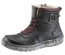 Shoes Schnürboots navy / burgunder