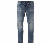 5-Pocket-Jeans »5620 Elwood 3D Tapered« blau