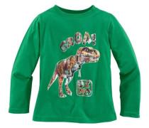 Langarmshirt mit Dinosaurier Druck für Jungen grün