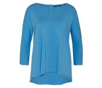 Langärmeliges Shirt blau