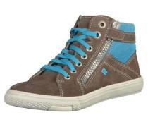 Sneaker himmelblau / greige