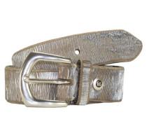 Gürtel 100 cm silber