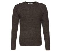 Pullover 'Strick' braun / grau