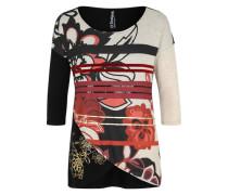Shirt 'loli' gold / hellrot / schwarz / weiß