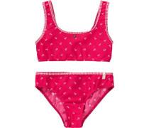 Kinder Bikini rot / weiß