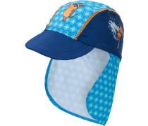 Mütze mit UV Schutz 'maus' blau