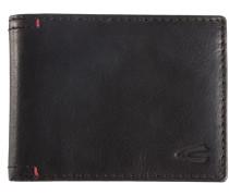 Geldbörse aus Leder schwarz