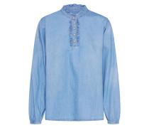 Bluse 'Sandrine' blue denim