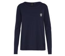 Basic Sweatshirt blau
