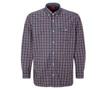 Regular: Kariertes Button-Down-Hemd mischfarben
