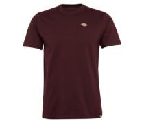 T-Shirt 'Stockdale' weinrot