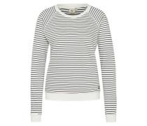 Sweatshirt 'Essential CR' schwarz / weiß