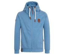 Male Zipped Jacket Birol VI blau