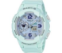 'Baby-G' Chronograph blau / hellblau / grau