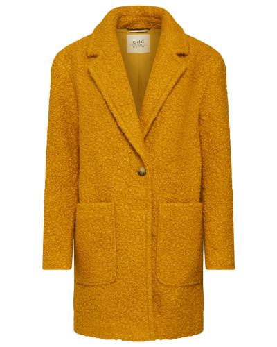 Mantel 'New Soft Bucle Coats woven'