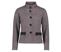 Blazer-Jacke mit Stehkragen
