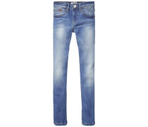 Denim Pants »Naomi Skinny Gmw« blue denim