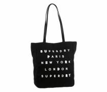 Shopper 'etoile Parisian Shopper' schwarz / weiß