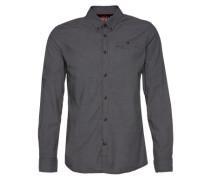 Hemd 'Floyd soft twill dobby shirt' grau