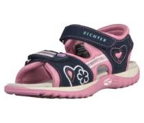 Sandalen nachtblau / rosa
