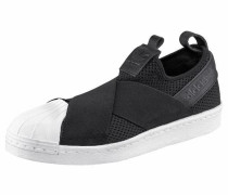 Sneaker 'Superstar Slip-On' schwarz / weiß