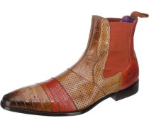 Elvis 12 Stiefeletten braun / orange