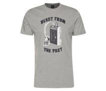 T-Shirt 'Blast From 94' graumeliert / schwarz