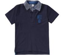 Poloshirt für Jungen blau / royalblau