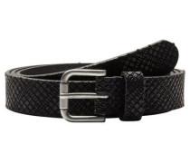 Gürtel Leder- schwarz