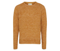 Pullover 'knit Structure' safran