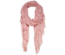Schal pink / silber