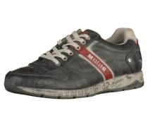 Sneaker creme / grau / graphit / rot