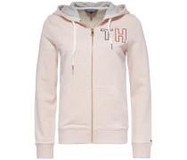 Sweatshirt 'damaris Hoodie LS' rosa / pastellpink