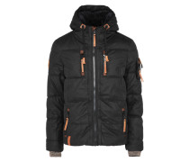 Male Jacket 'Italo Pop V' braun / schwarz