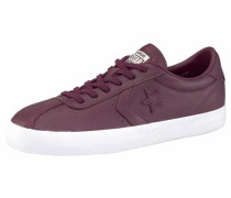 'Breakpoint Leather' Sneaker bordeaux