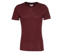 T-Shirt 'The Crew Neck Tee' weinrot