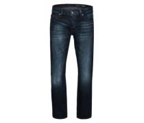 Jeans 'Straight Cut' blau