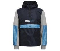 Jacke aus Stoffmix