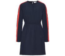 Kleid mit langen Ärmeln Blaues blau / rot