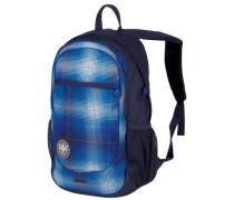 Techpack Rucksack 31 cm blau / dunkelblau / orange