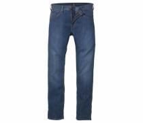 Regular-fit-Jeans 'daren Zip-Fly' blue denim