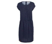 Kleid 'Schätzeken VI' blau / rot