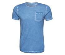 T-Shirt 'Ciriese' blau
