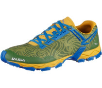 MS Lite Train Mountain Running Schuhe blau / gelb / grün
