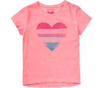 T-Shirt für Mädchen koralle / pink