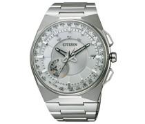 Armbanduhr mit GPS »Cc2001-57A« silber