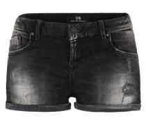Knappe Used Shorts 'Judie' black denim