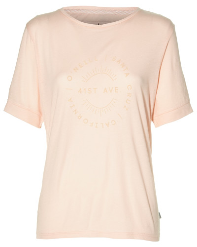 T-Shirt 'LW Essentials Logo T-Shirt' rosa