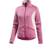Laurien Strickfleece pink